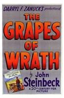 "The Grapes of Wrath - Darryl F. Zanuck's - 11"" x 17"""