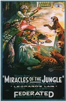 """Miracles of the Jungle - 11"""" x 17"""" - $15.49"""