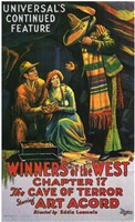 """Winners of the West - movie poster - 11"""" x 17"""""""