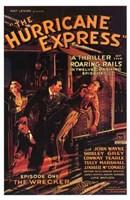"The Hurricane Express - 11"" x 17"""