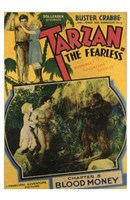 Tarzan the Fearless, c.1933 chapter 5 Wall Poster