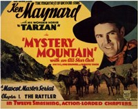 "Mystery Mountain - 17"" x 11"""