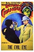 """The Return of Chandu - The Evil Eye - 11"""" x 17"""""""