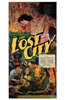 """The Lost City Vintage - 11"""" x 17"""" - $15.49"""