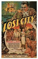 """The Lost City William Boyd - 11"""" x 17"""""""