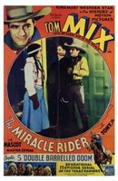"""The Miracle Rider Tom Mix Double Barrelled Doom - 11"""" x 17"""""""