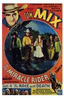 """The Miracle Rider Tom Mix The Race with Death - 11"""" x 17"""""""