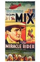 "The Miracle Rider Tom Mix Mascot - 11"" x 17"""