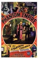 """The Phantom Empire The Lightning Chamber - 11"""" x 17"""""""