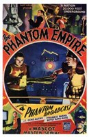 """The Phantom Empire Phantom Broadcast - 11"""" x 17"""""""
