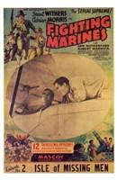 "The Fighting Marines Movie - 11"" x 17"""