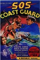 """Sos Coast Guard - 11"""" x 17"""""""