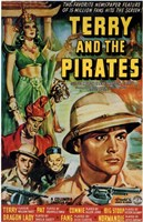 """Terry and the Pirates - 11"""" x 17"""" - $15.49"""