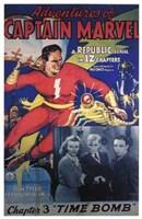 "Adventures of Captain Marvel - style D - 11"" x 17"""