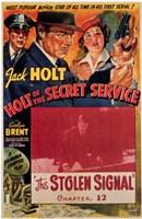 "Holt of the Secret Service - 11"" x 17"""