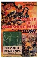 """The Valley of the Vanishing Men - 11"""" x 17"""""""
