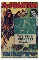"""The Phantom - The Fire Princess - 11"""" x 17"""""""