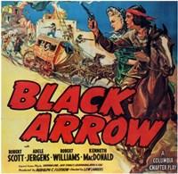 "Black Arrow - 17"" x 11"""