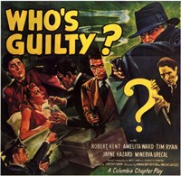 """Who's Guilty - 17"""" x 11"""""""