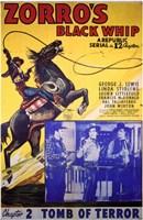 "Zorro's Black Whip Chapter 2 - 11"" x 17"""
