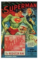 Superman The Reducer Ray Wall Poster