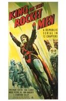"King of the Rocket Men A Republic Serial - 11"" x 17"""