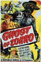 Ghost of Zorro Wall Poster