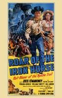 "Roar of the Iron Horse - 11"" x 17"""