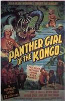 "Panther Girl of the Kongo - 11"" x 17"""