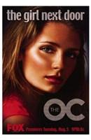 """The Oc - the girl next door - 11"""" x 17"""""""