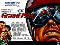 """Grand Prix Frankenheimer - 17"""" x 11"""""""