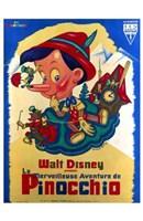 "Pinocchio French - 11"" x 17"""