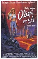 """Alien from La - 11"""" x 17"""""""