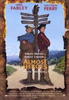 """Almost Heroes - 11"""" x 17"""""""