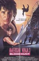"American Ninja 3 Blood Hunt - 11"" x 17"""