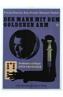 """The Man with the Golden Arm - German - 11"""" x 17"""""""