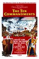 """The Ten Commandments Flood - 11"""" x 17"""""""