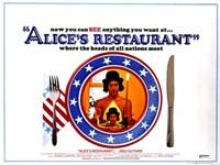 """Alice's Restaurant - 17"""" x 11"""""""