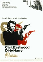 Dirty Harry Pop Art Wall Poster