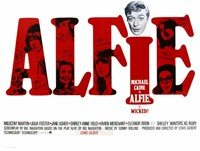 Alfie Michael Caine Wall Poster