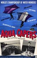"""Aqua Capers - 11"""" x 17"""""""