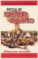 "Battle of Blood Island - 11"" x 17"""