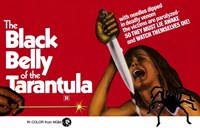 "Black Belly of Tarantula - 17"" x 11"""