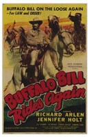"Buffalo Bill Rides Again - 11"" x 17"", FulcrumGallery.com brand"