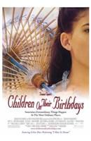 """Children on Their Birthdays - 11"""" x 17"""""""