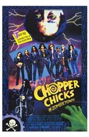 Chopper Chicks in Zombietown Wall Poster