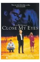 "Close My Eyes - 11"" x 17"""