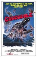 """Crocodile - 11"""" x 17"""""""