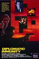 """Diplomatic Immunity - 11"""" x 17"""""""