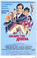 """Escape to Athena - 11"""" x 17"""""""
